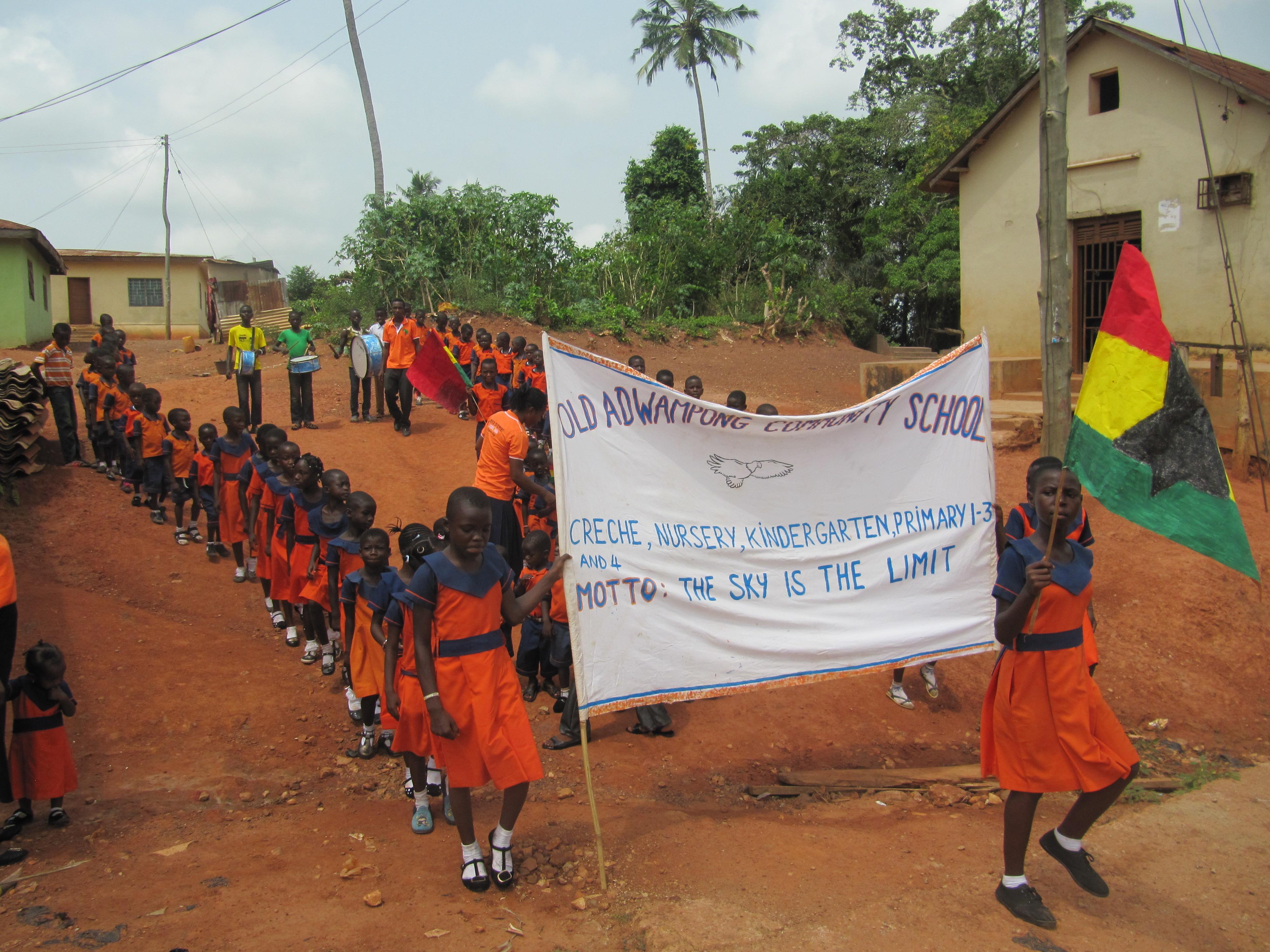 Die alljährliche Parade zum Unabhängigkeitstag fand auch in diesem Jahr wieder statt.
